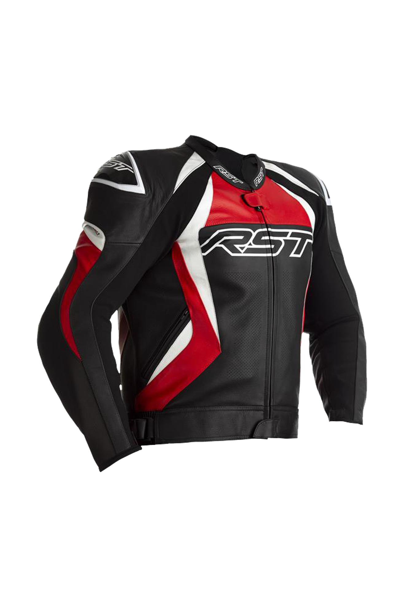 rst giacca moto  tractech evo 4 rossa