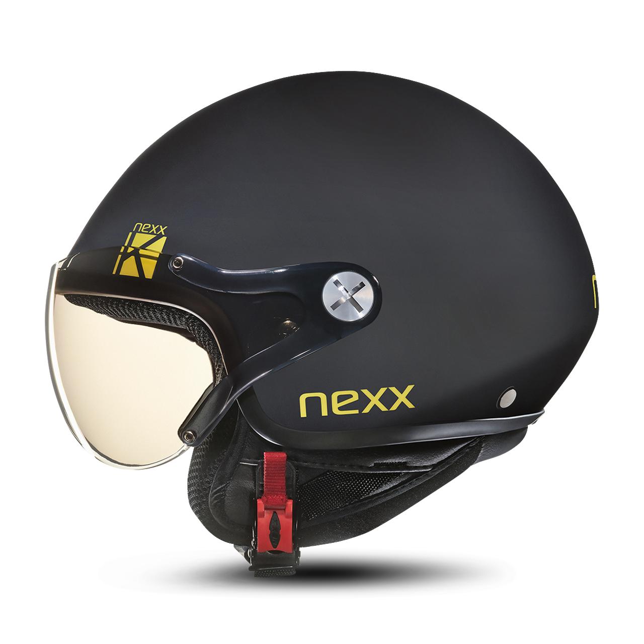 nexx casco jet bambino  sx.60 kids k nero