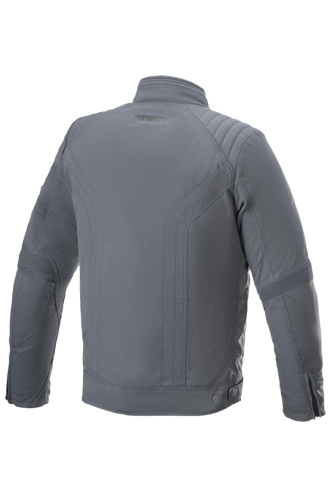 alpinestars giacca moto  t-burstun drystar storm-grigio