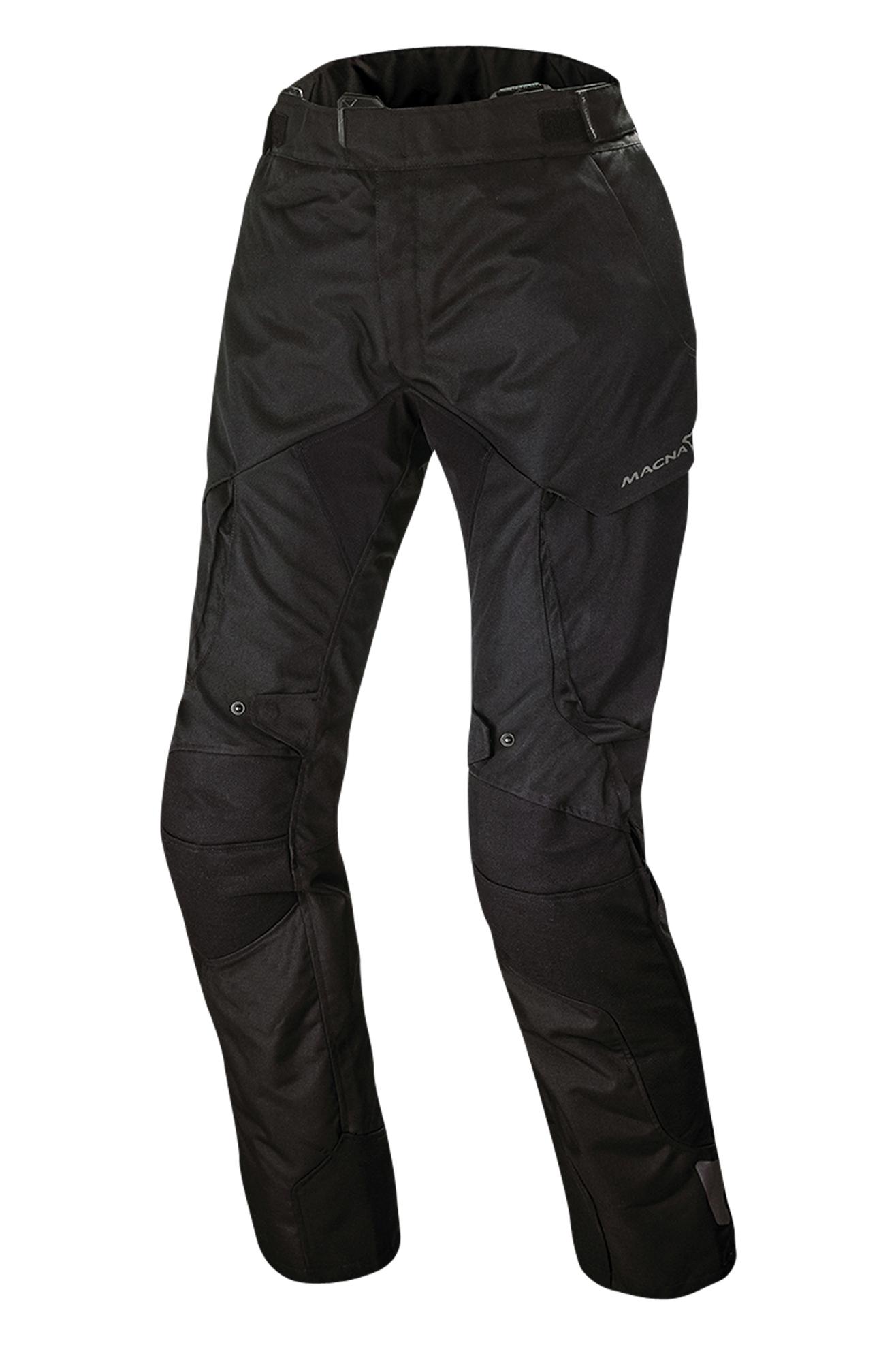 Macna Pantaloni Moto Donna  Forge Neri
