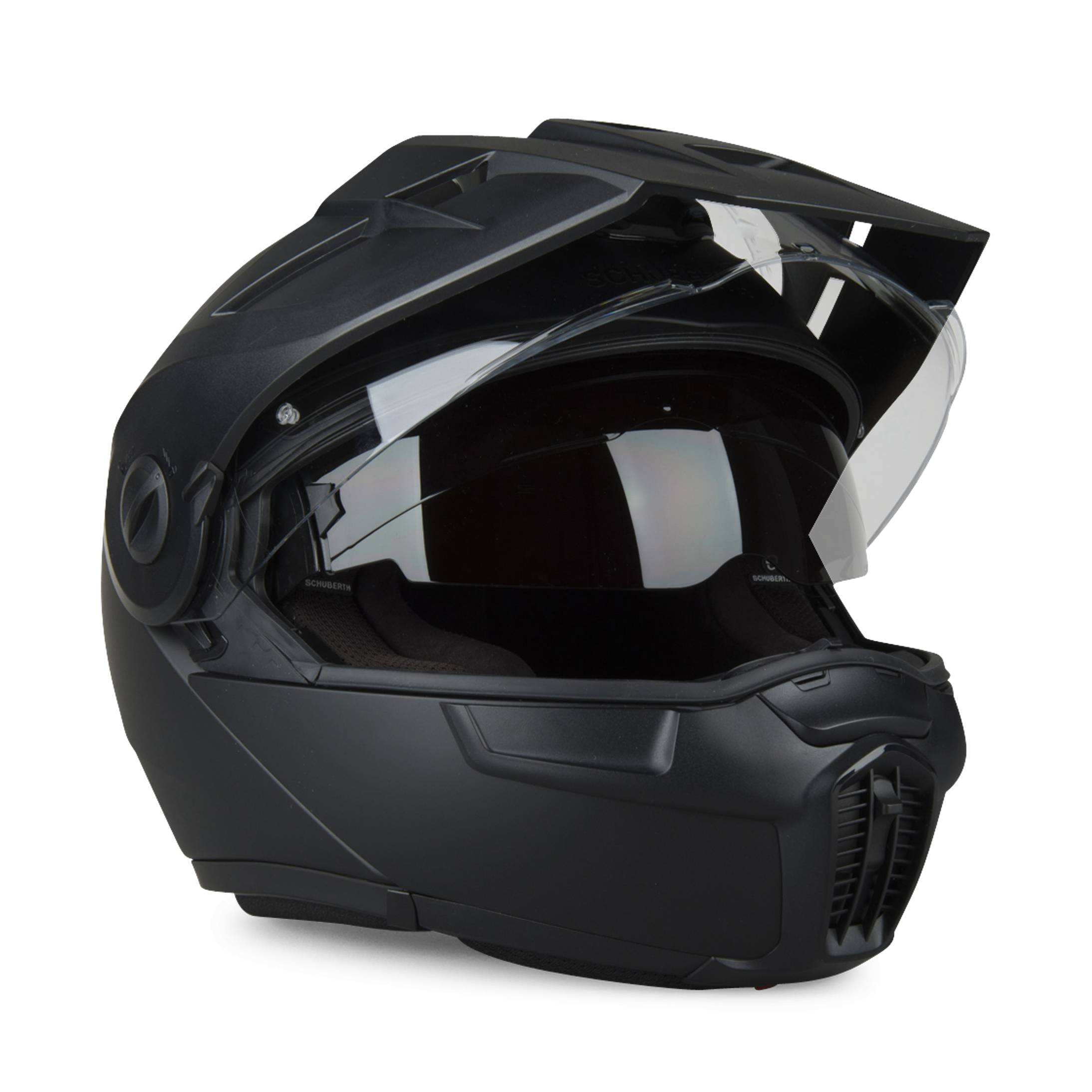 Schuberth Casco  E1 Nero matte