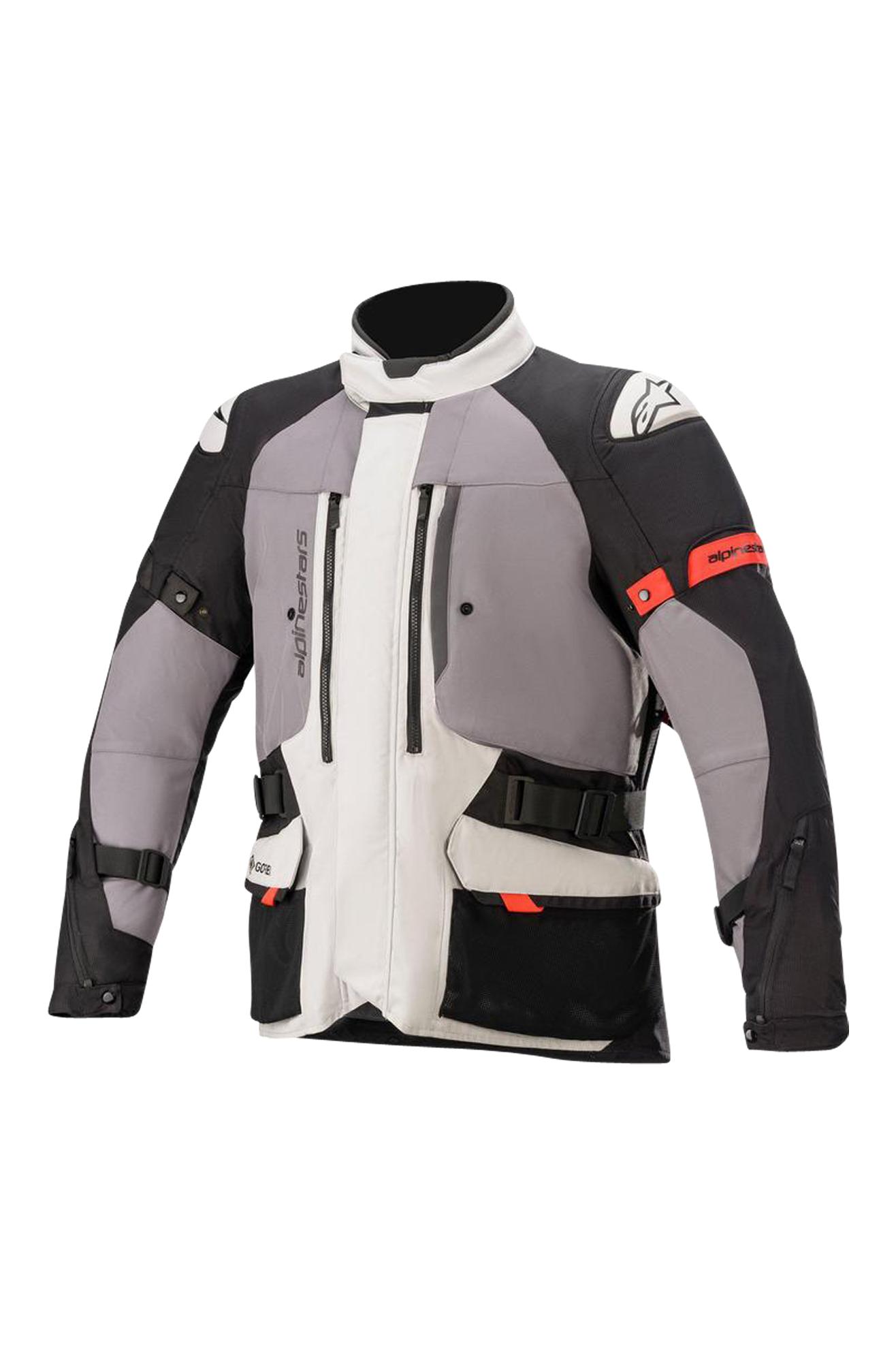 alpinestars giacca moto  ketchum gore-tex® ghiaccio-grigio-nero