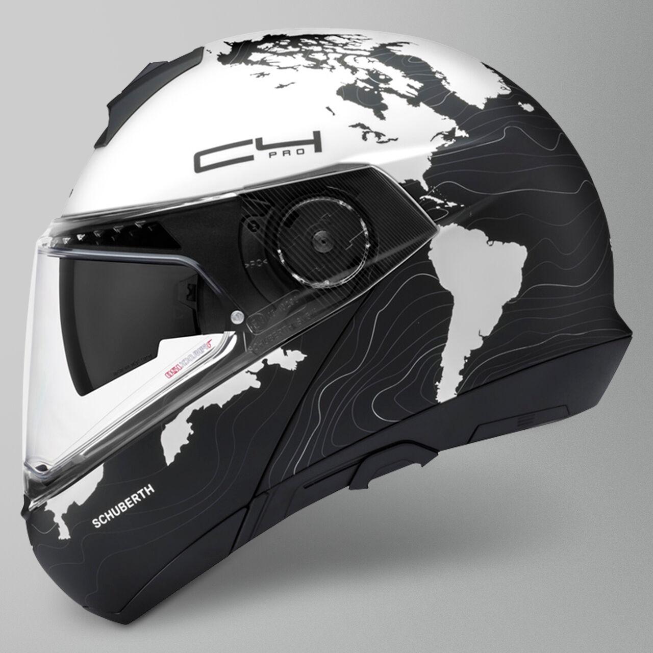 Schuberth Casco Modulare C4 Pro Magnitudo Bianco