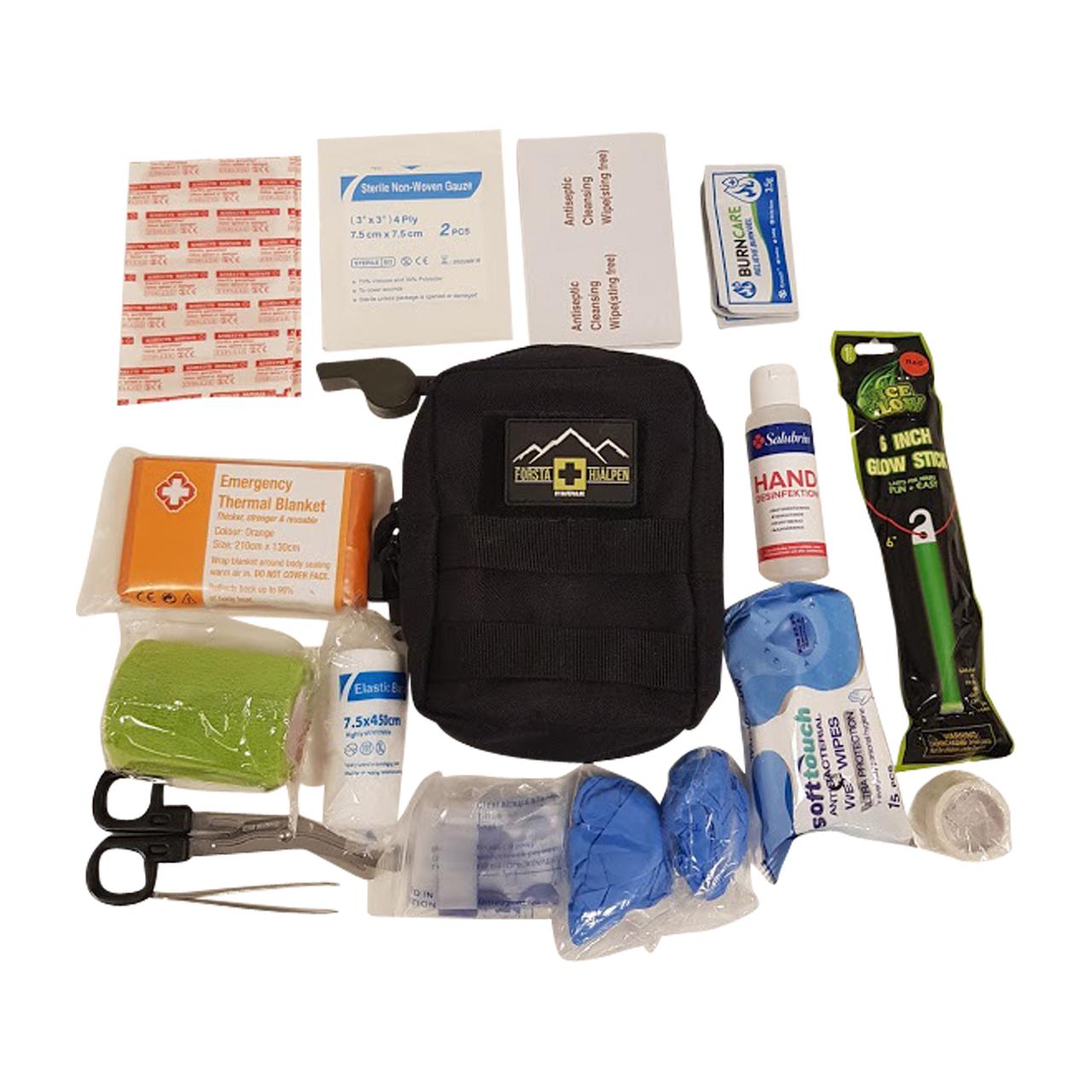 safepaq kit di pronto soccorso  nero