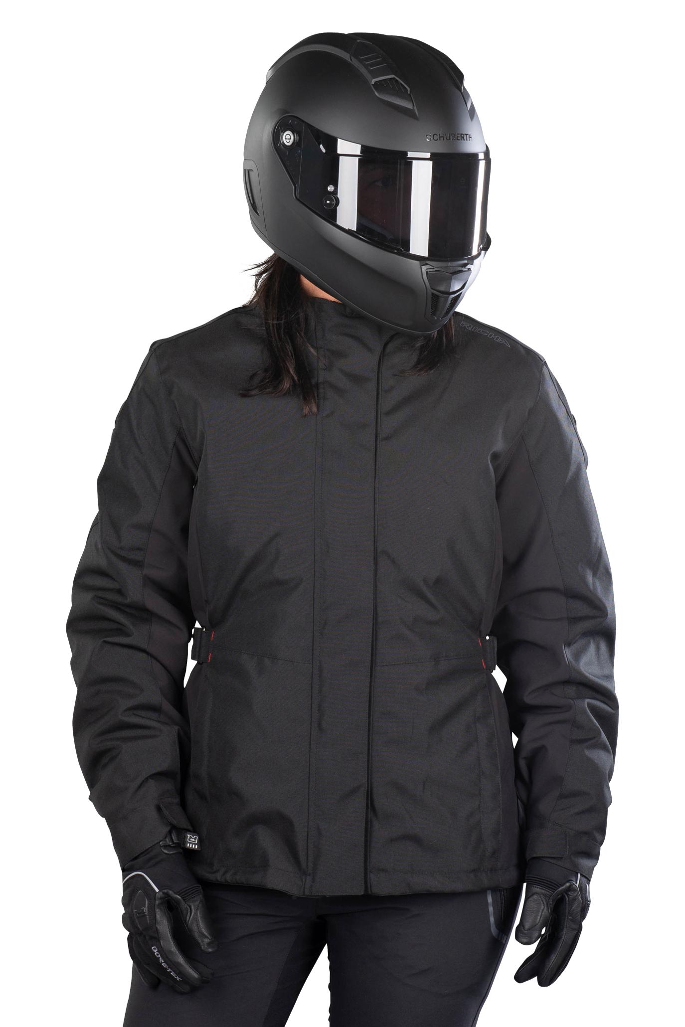 richa giacca moto donna  queen 2 nera
