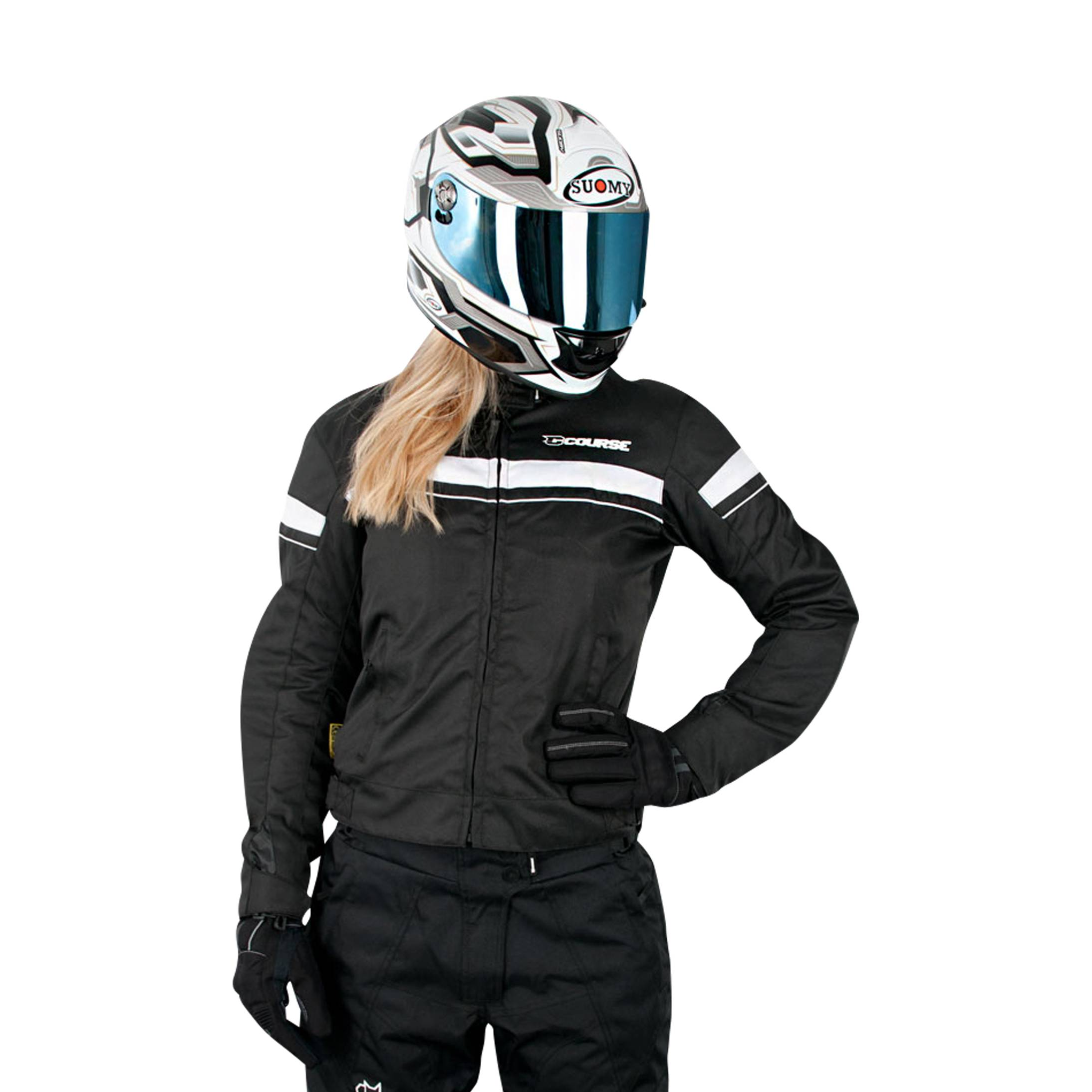 course giacca moto donna  two seasons
