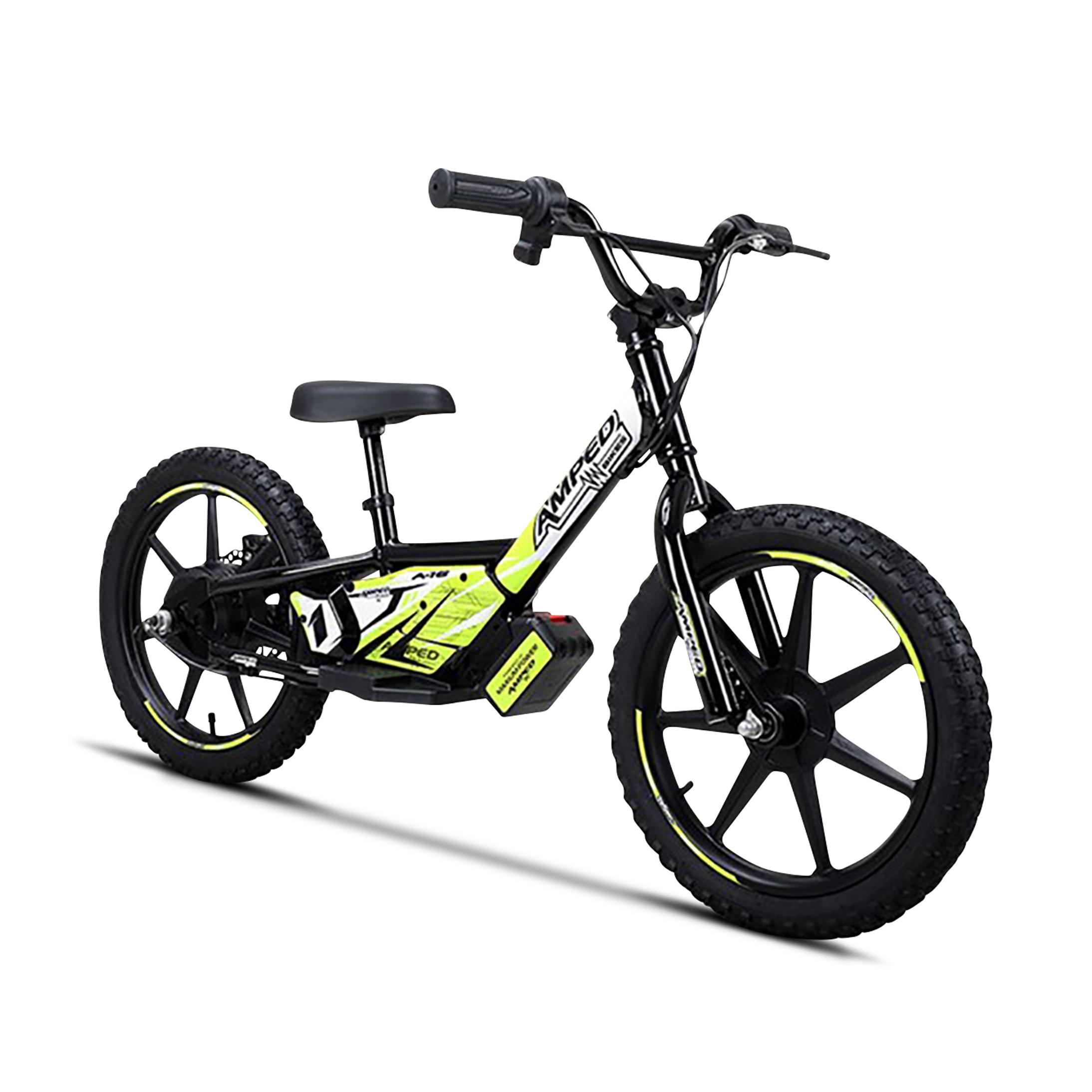 amped bici elettrica senza pedali  a16 nera