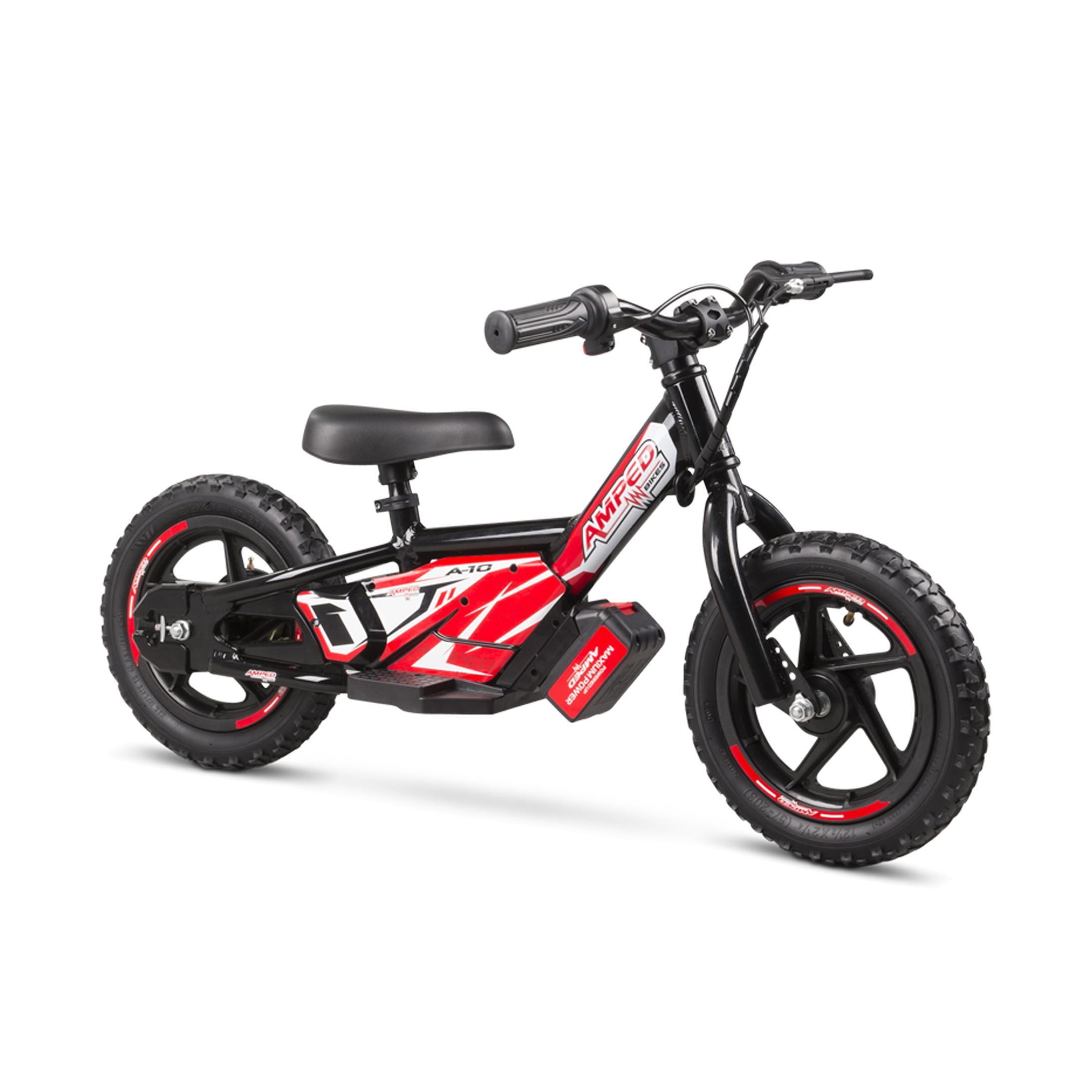 amped bici elettrica senza pedali  a10 nero