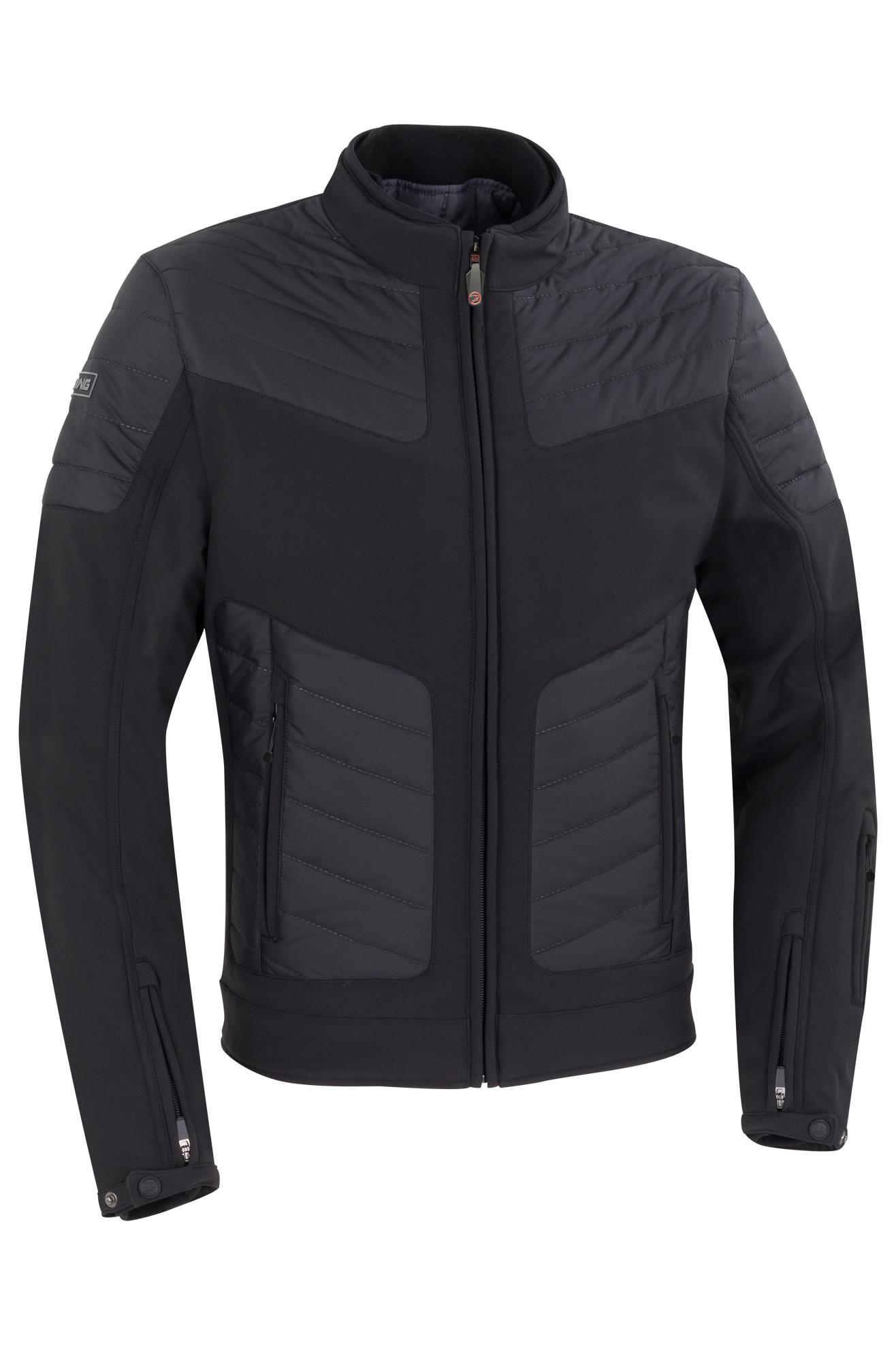bering giacca moto  insight nera