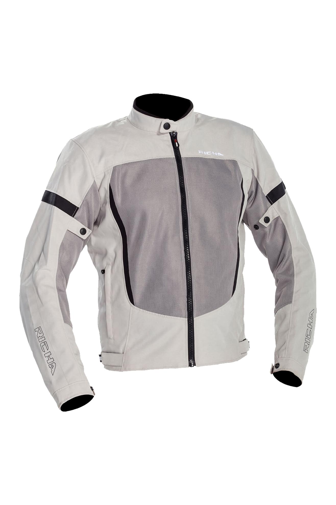 richa giacca moto  airbender grigio