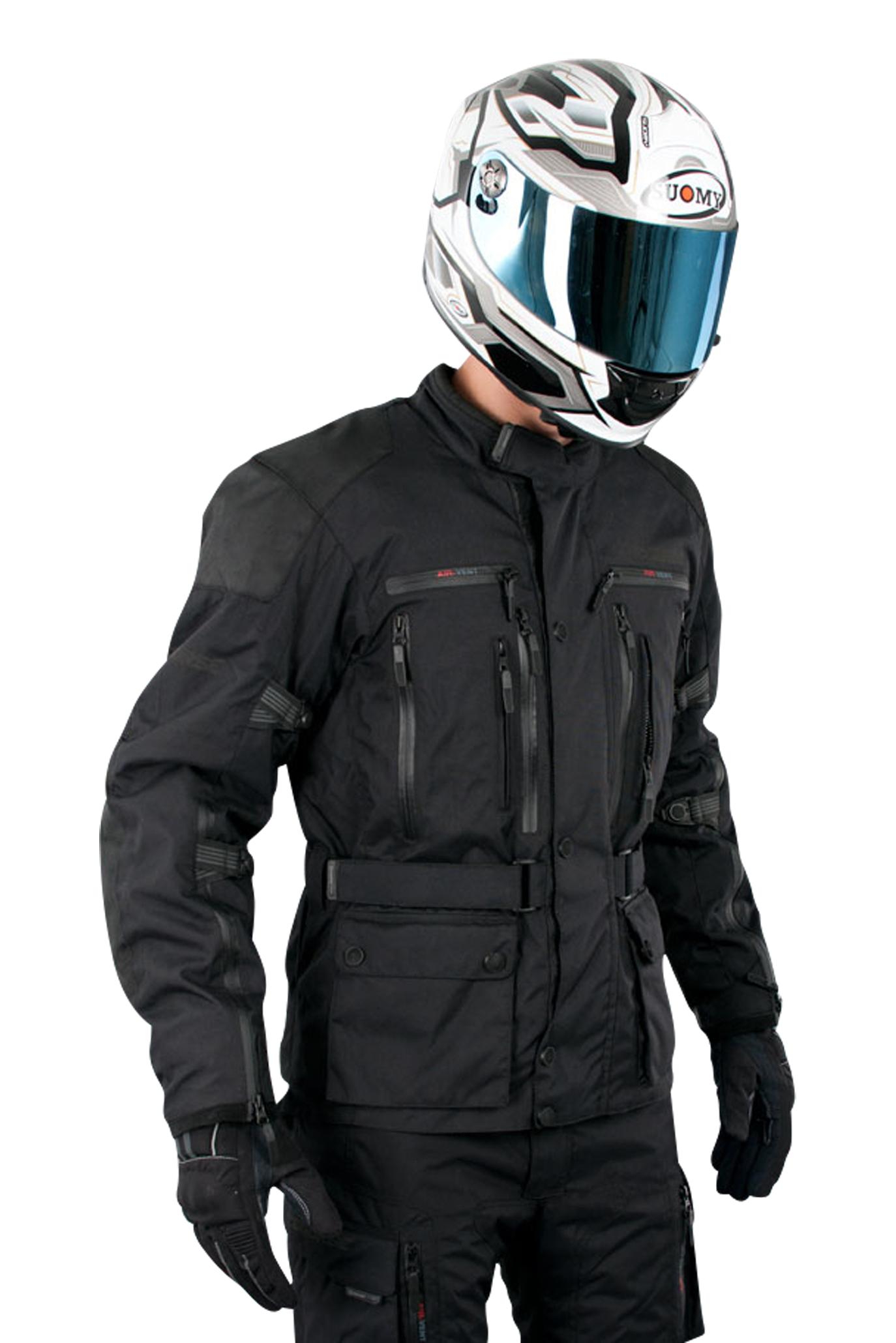 course giacca moto  four seasons 2.0 nera