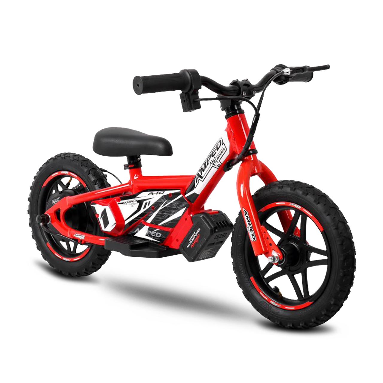 amped bici elettrica senza pedali  a10 rossa
