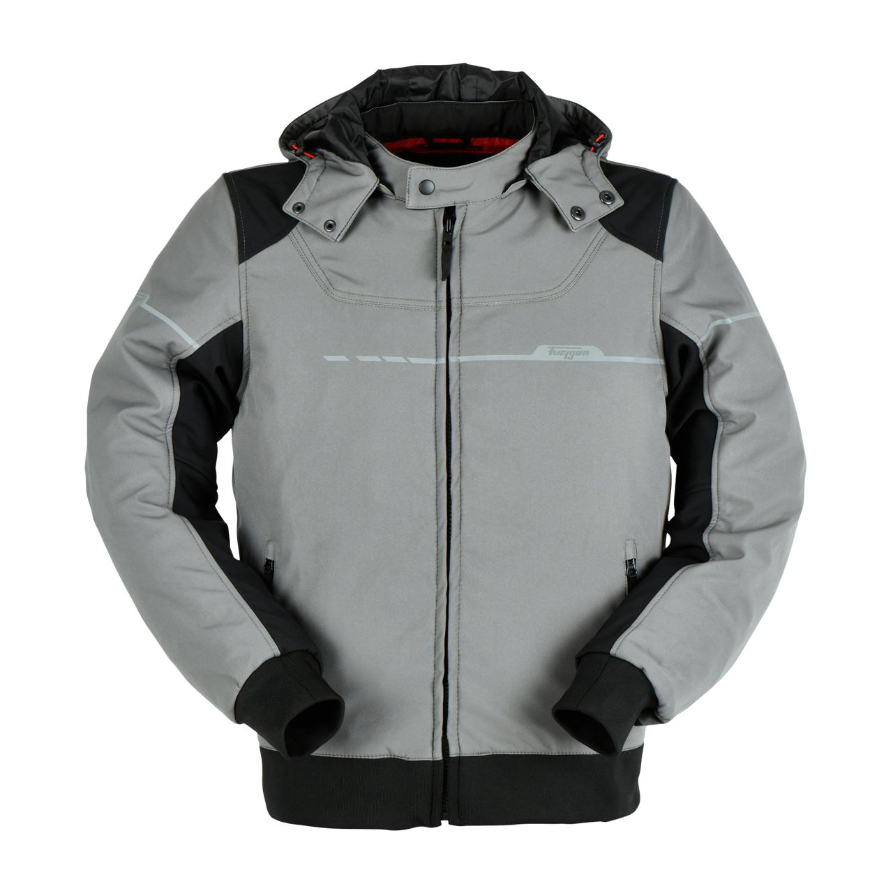 furygan giacca moto  sektor evo nero-grigio