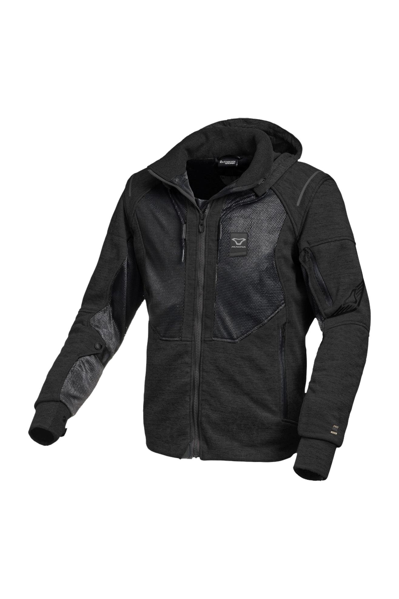 macna giacca moto  breeze pro nera