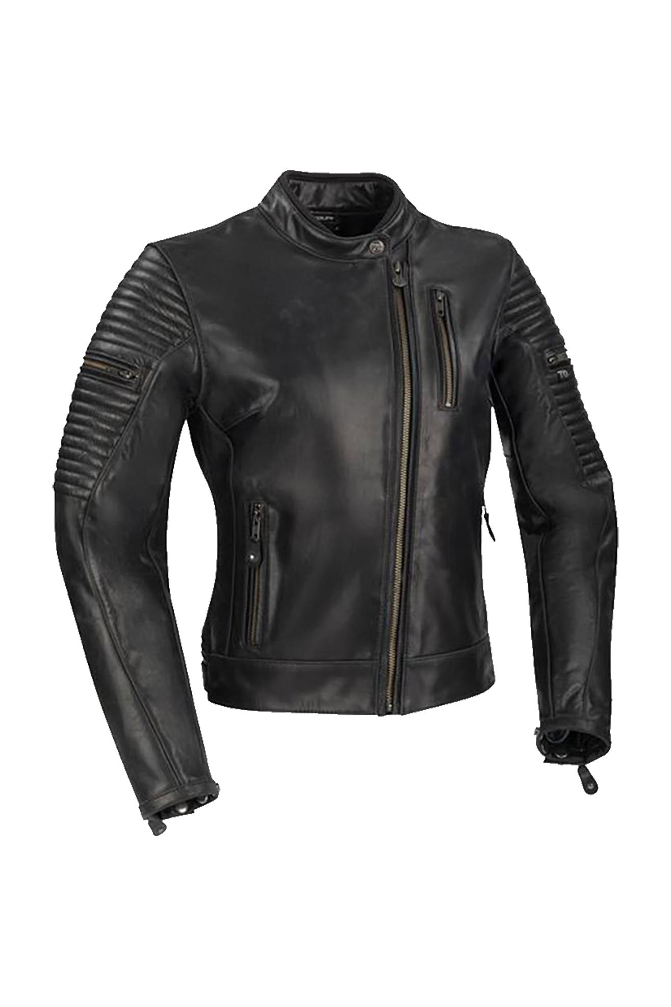 segura giacca moto donna  lady dolly nera