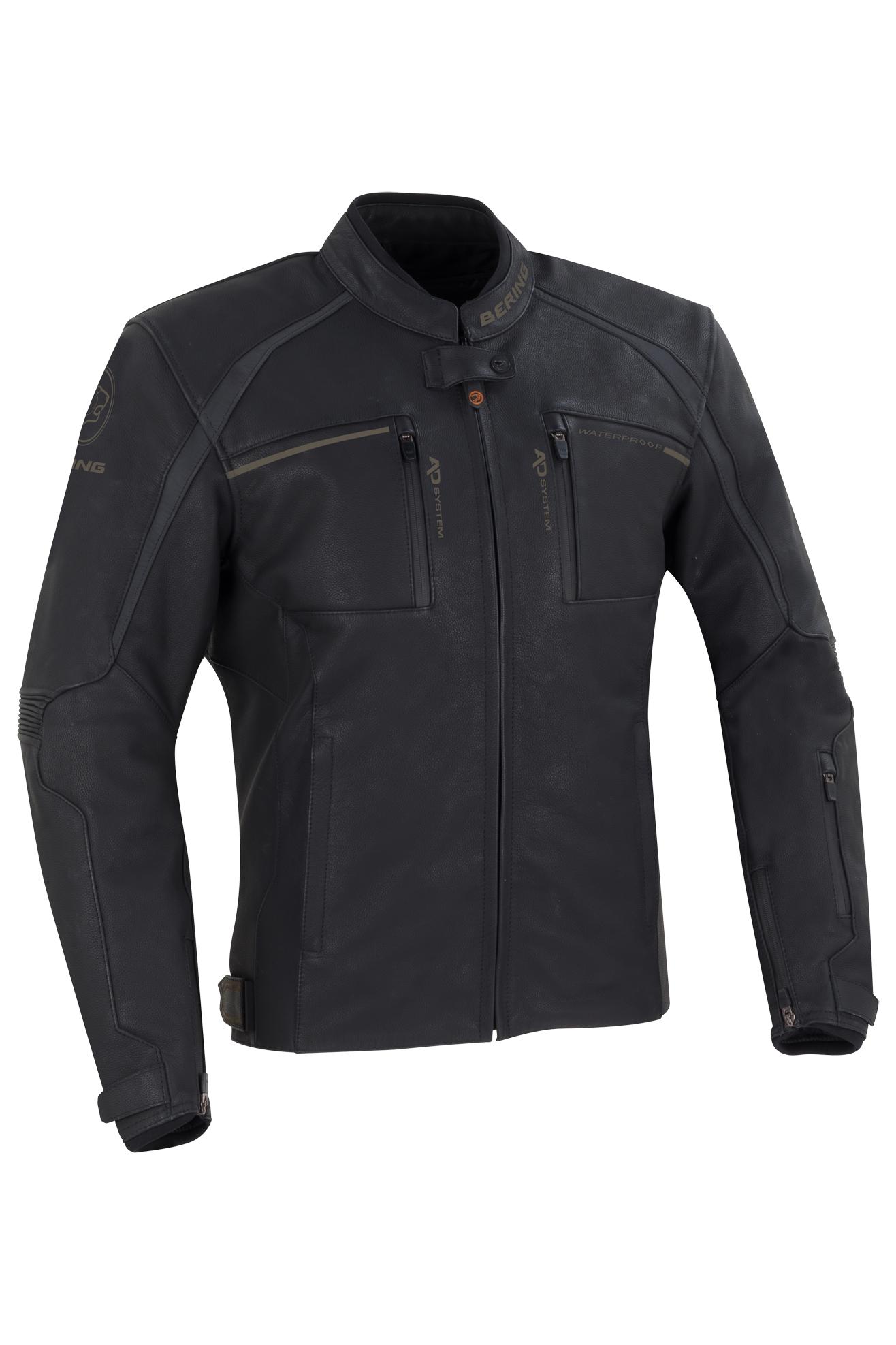 bering giacca moto  mendes nera