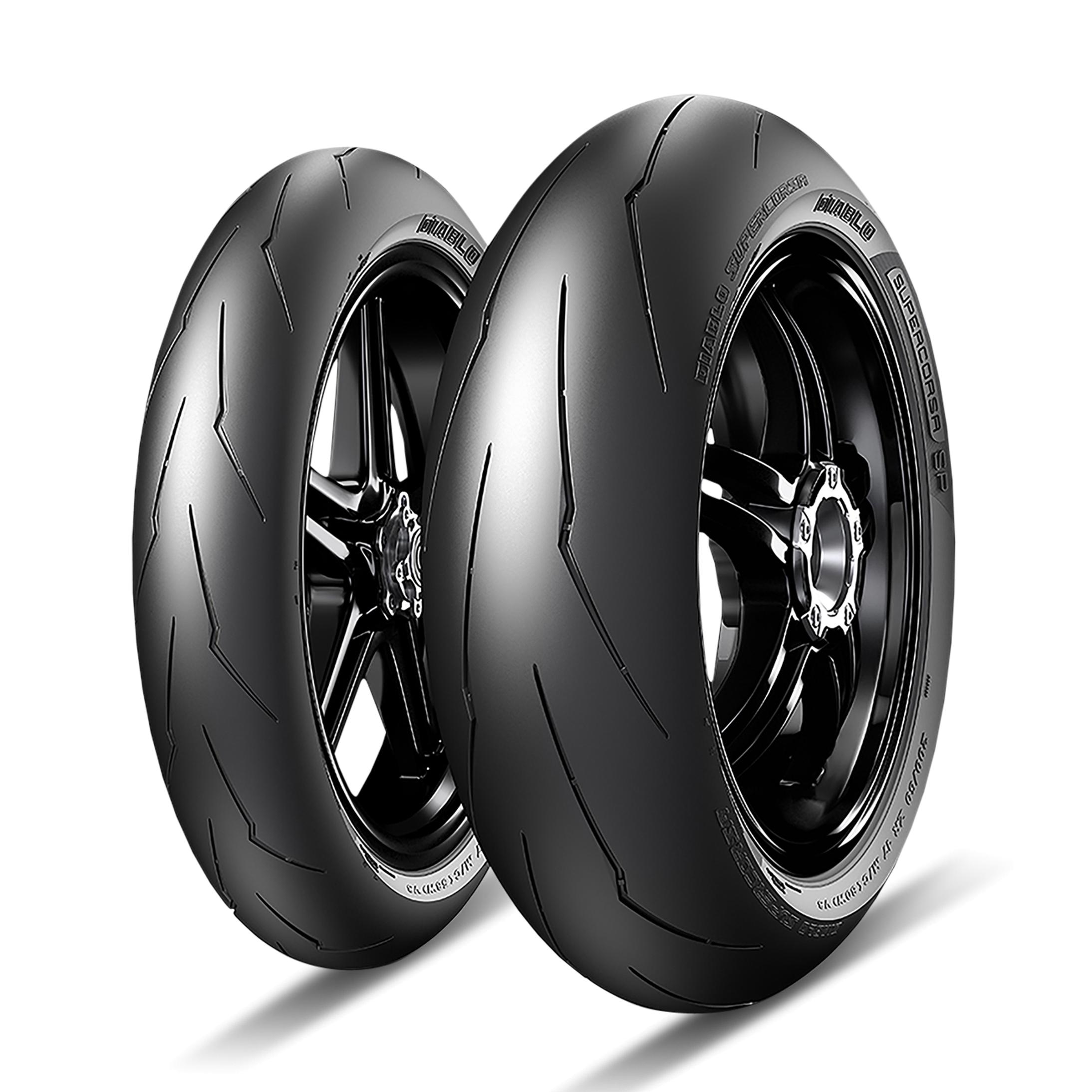 Pirelli Pneumatico Anteriore Moto  Diablo Supercorsa