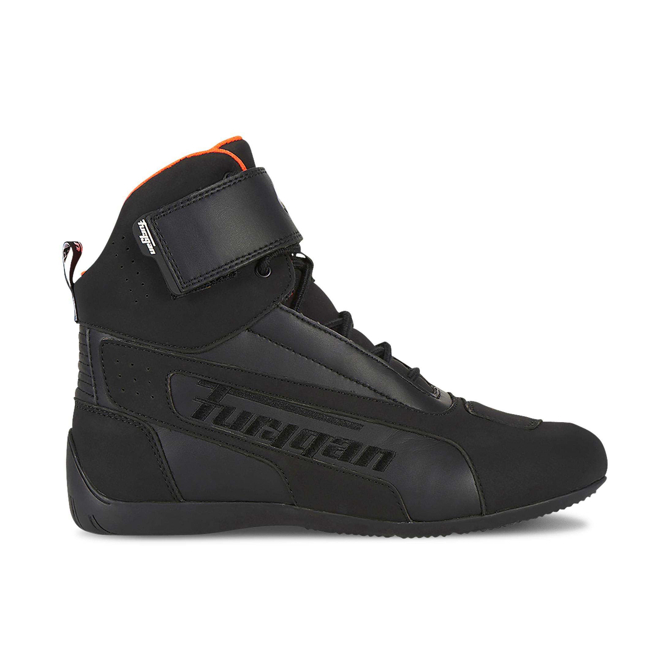 furygan scarpe moto  zephyr d3o nero-arancio