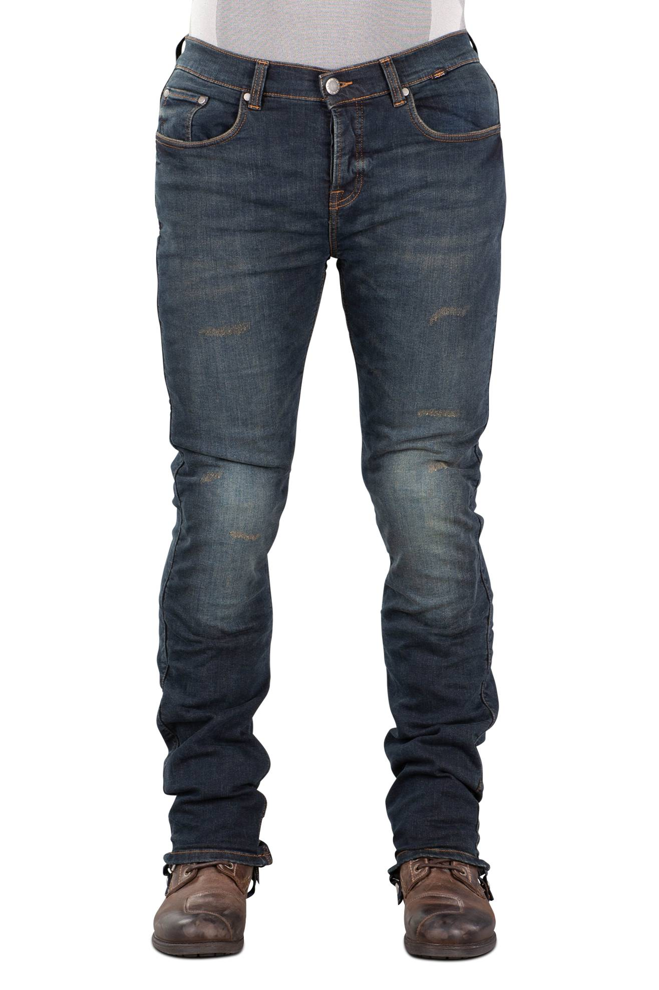 Richa Jeans Moto  Project Lunghi Blu