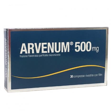 STRODER Srl ARVENUM 30 COMPRESSE RIVESTITE 500 MG