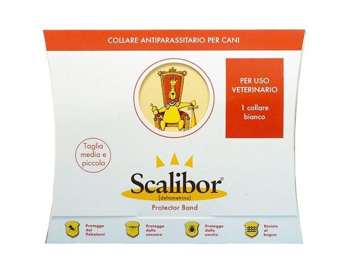 SD Animal Health SCALIBOR collare antiparassitario per cani (taglia media e piccola)
