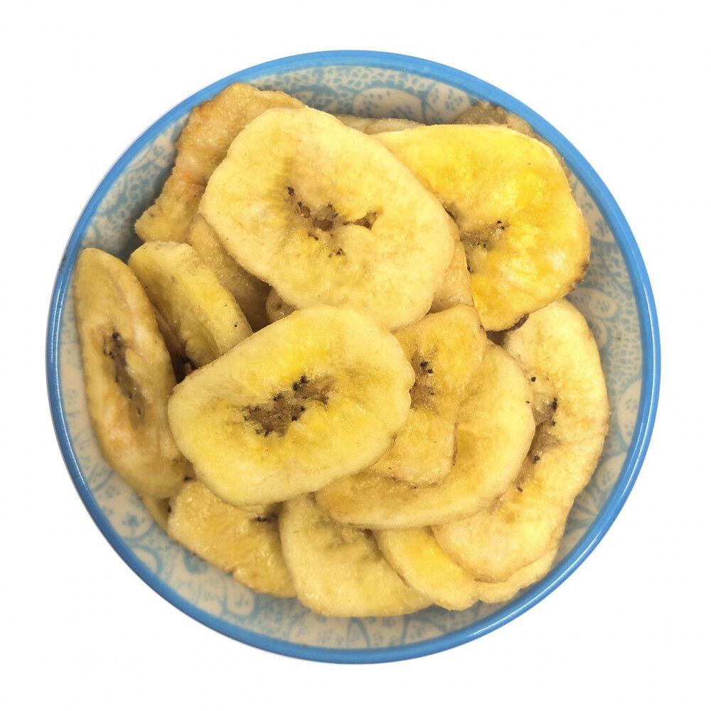 Banana chips disidratate 500G