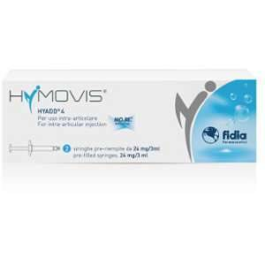 FIDIA FARMACEUTICI SpA HYMOVIS 2 SIRINGHE 24MG 3ML