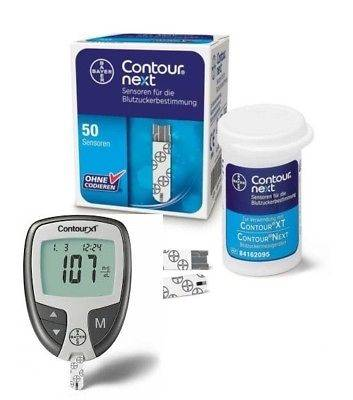 ASCENSIA DIABETES CARE ITALY Contour Next Glucometro + 10 stisce in omaggio
