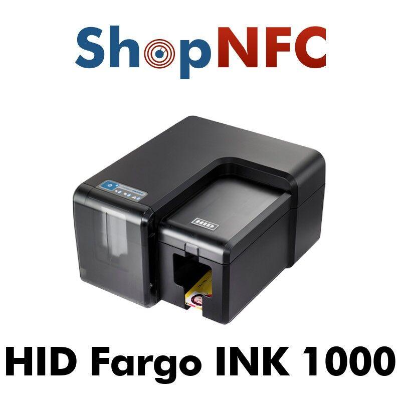HID Global HID FARGO INK1000 - Stampante inkjet per Card in PVC