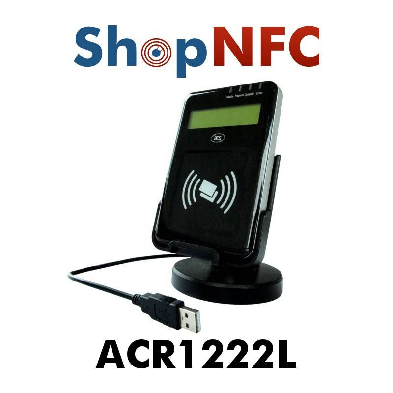 ACR1222L - NFC Reader/Writer con Display LCD