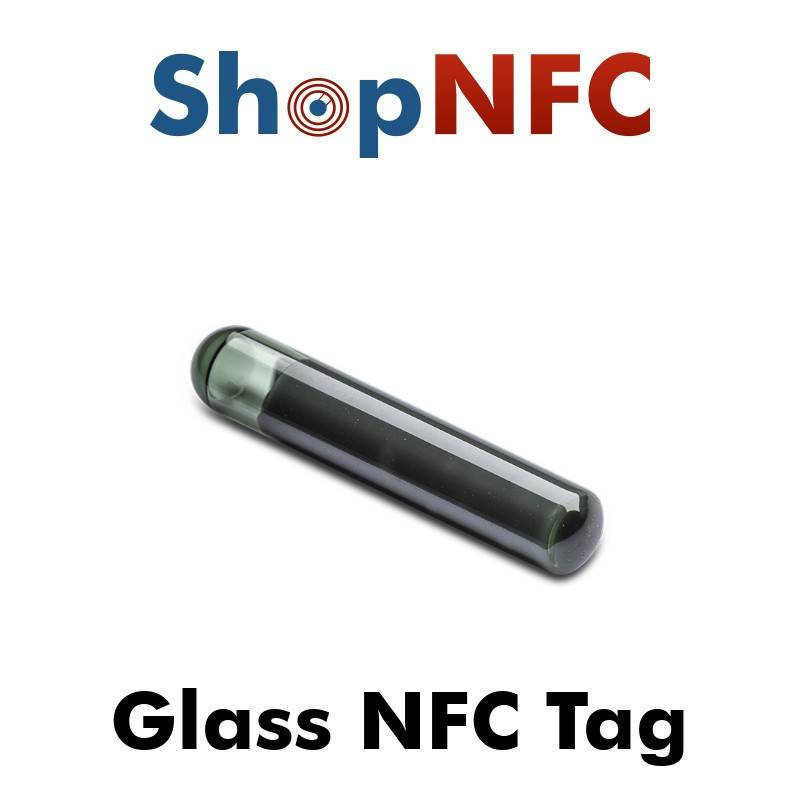 HID Global Tag NFC in vetro ICODE SLIX2 4x22mm