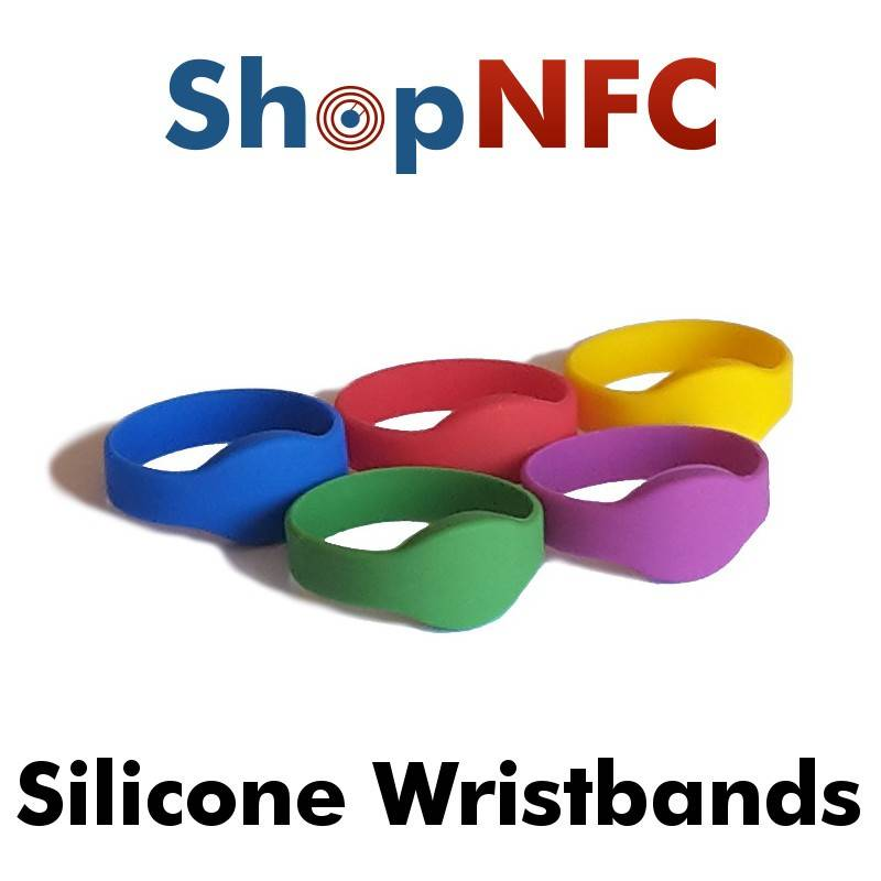 Bracciali NFC in Silicone - Low Cost