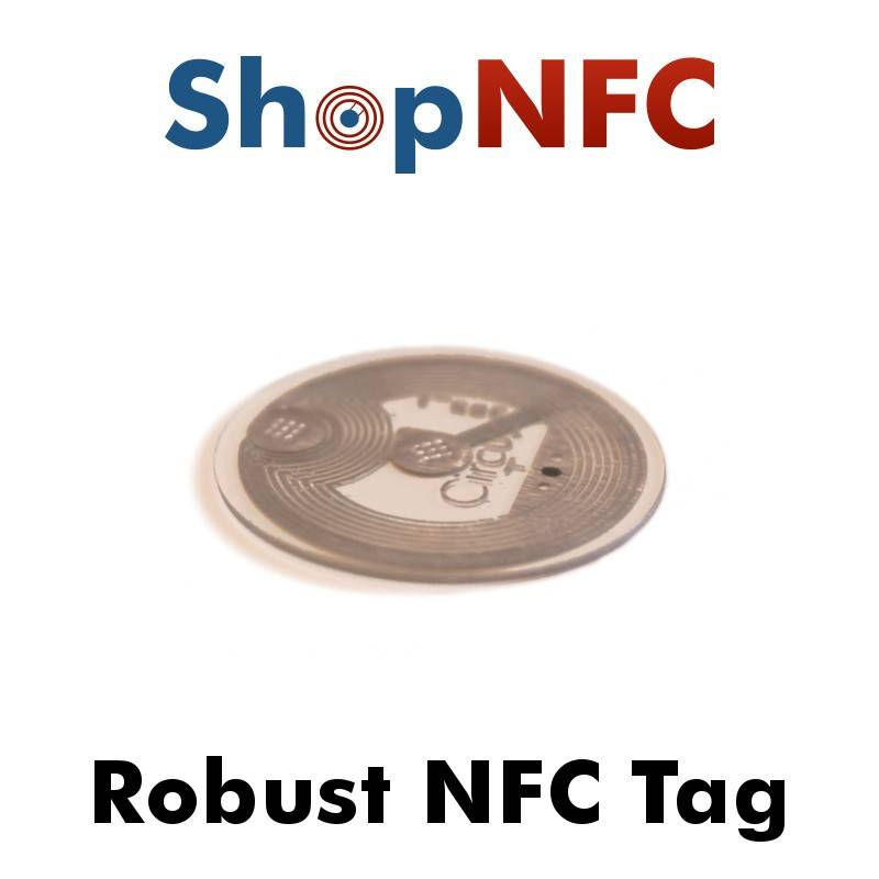 Tag NFC NTAG213 in PET 22mm