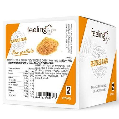 Feeling Ok Pan Grattato Optimize 500 G (2 X 250 G)