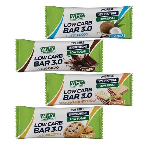 whynature why nature low carb bar 3.0 30 g