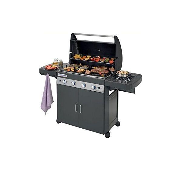 Campingaz BBQ a gas Campingaz 4 Series CLASSIC LS Dark con forno, piastra