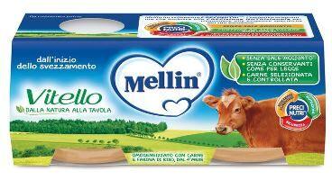 DANONE NUTRICIA SpA SOC.BEN. Mellin Omog Vitello 2x80g