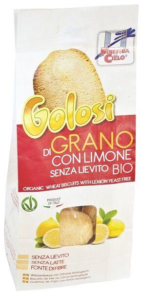 IL FIOR DI LOTO Biscotti Golosi S/l Grano Limone