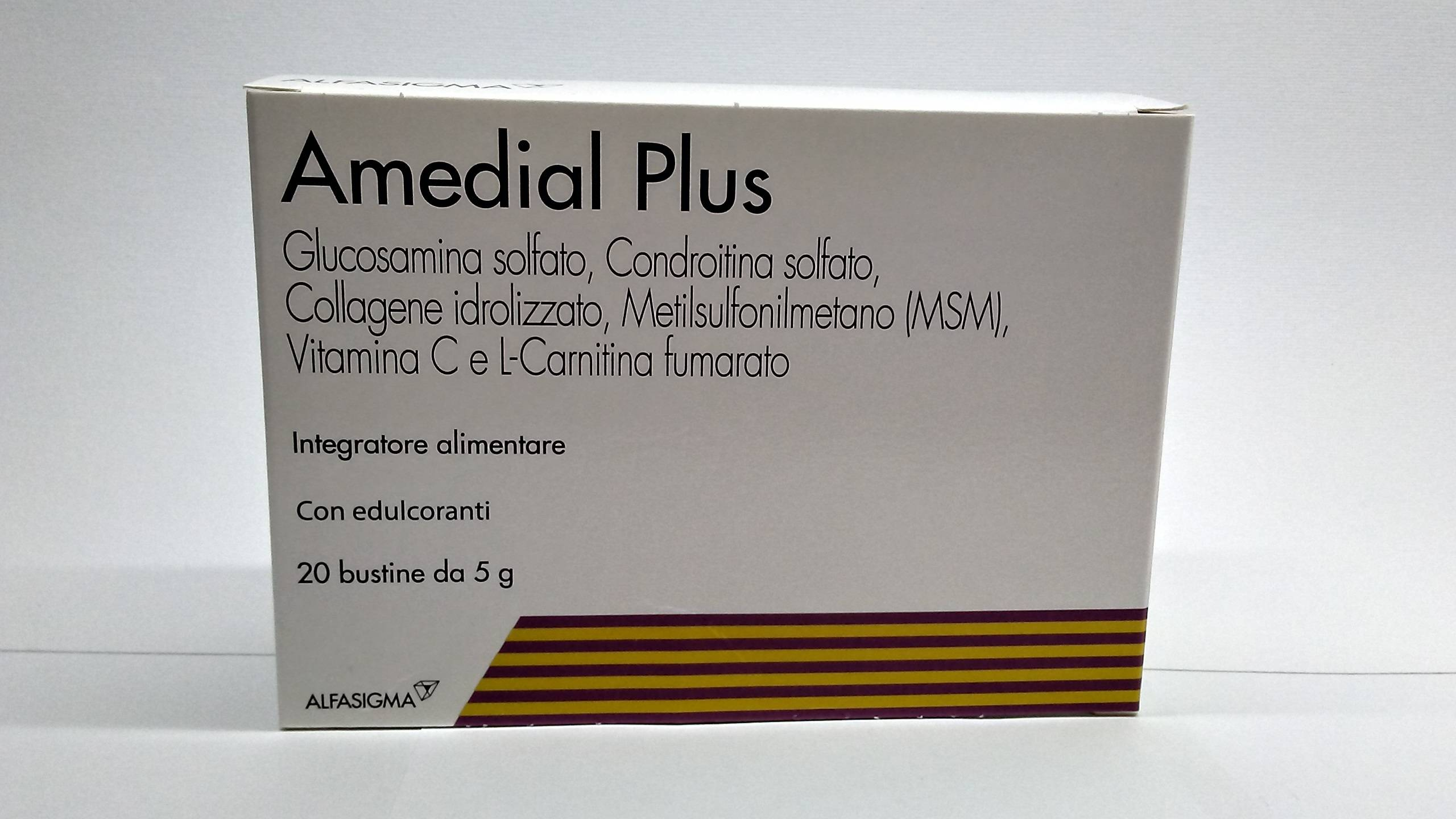ALFASIGMA SPA Amedial Plus 20bust