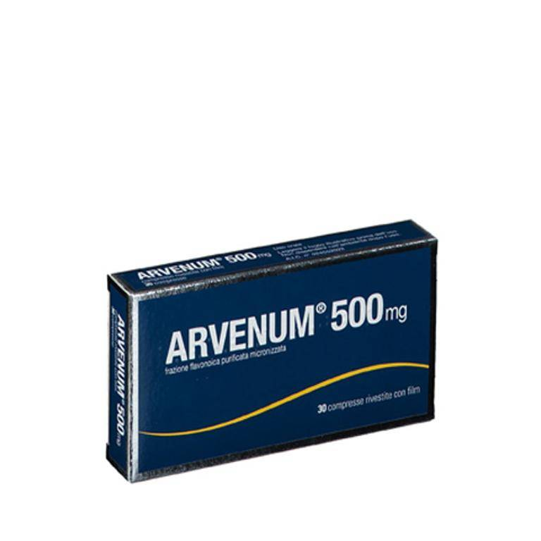 STRODER SRL Arvenum 500*30cpr Riv 500mg