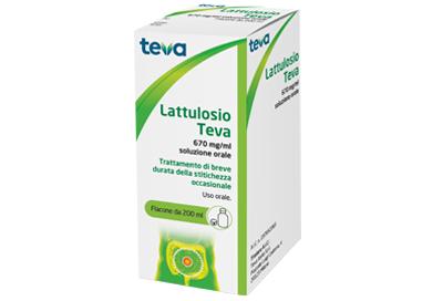 teva italia srl lattulosio (teva)*os soluz 200 ml 670 mg/ml flacone