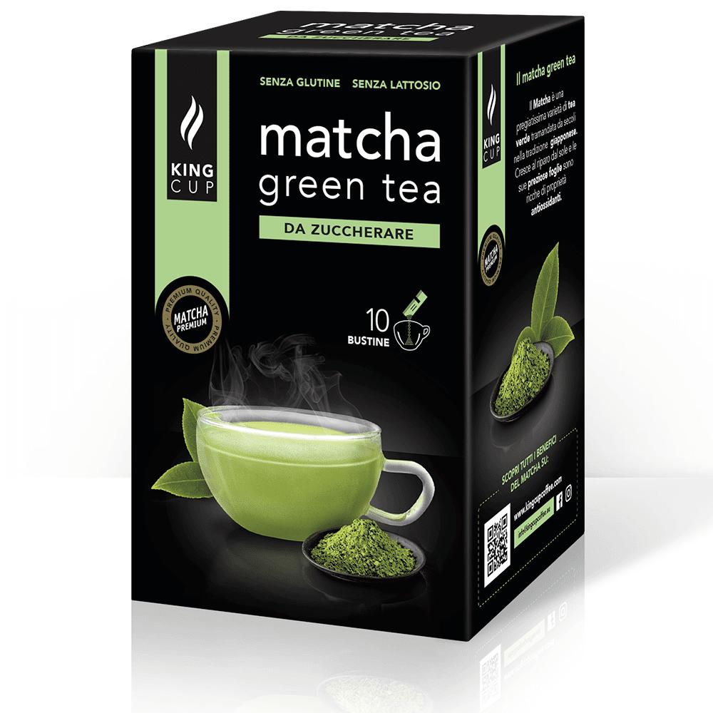 king cup matcha green tea - 10 bustine solubili