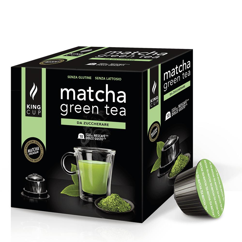 king cup matcha green tea - capsule nescafè* dolce gusto®*