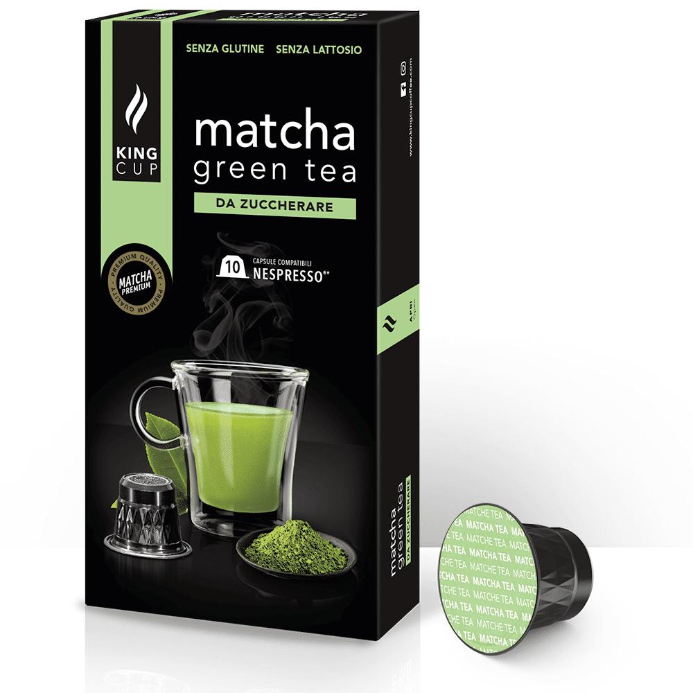 king cup matcha green tea - capsule nespresso®*