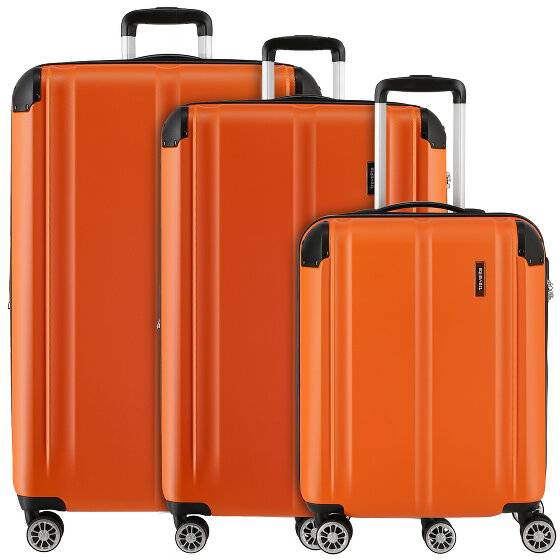 Travelite City Valigia 4 ruote set di 3pz.