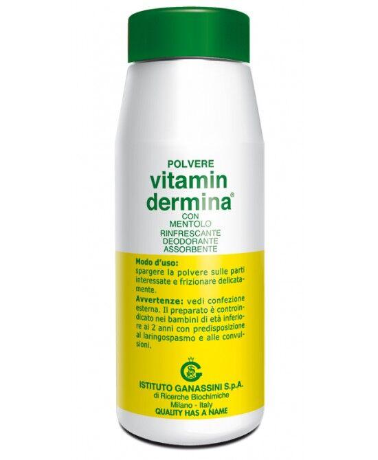 Ist.Ganassini Vitamindermina Polvere Al Mentolo 100gr.