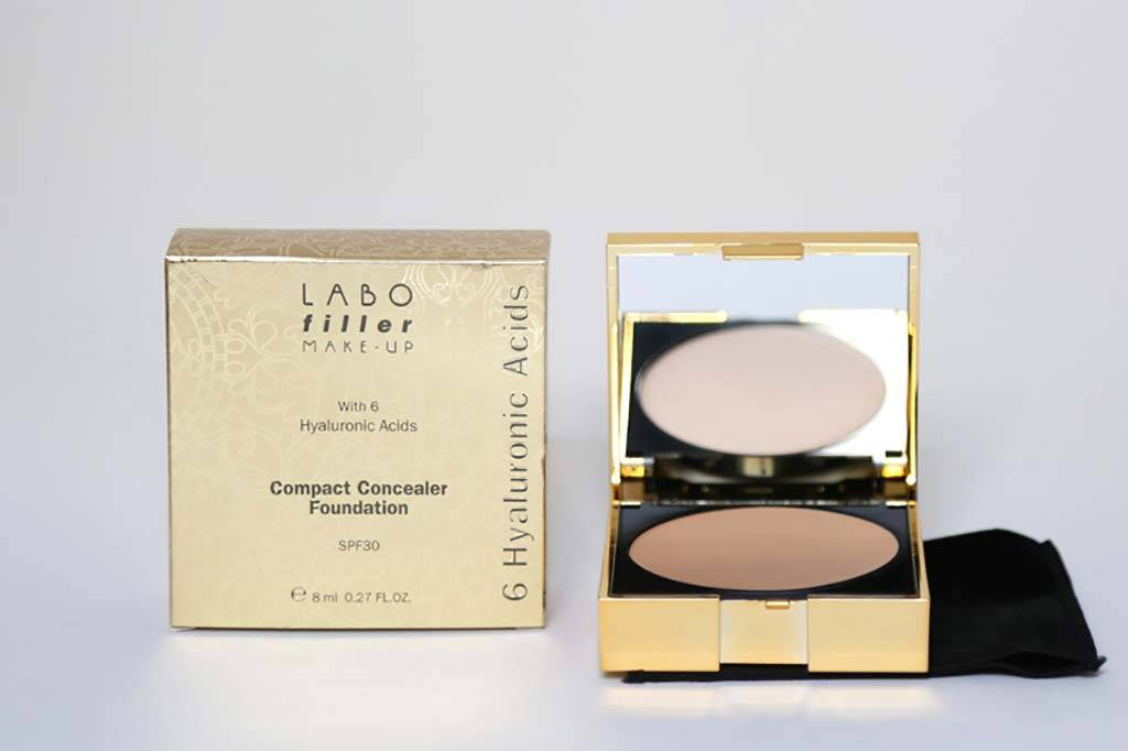 LABO Fondotinta Compatto Correttore Spf 30  63 Medium Neutral