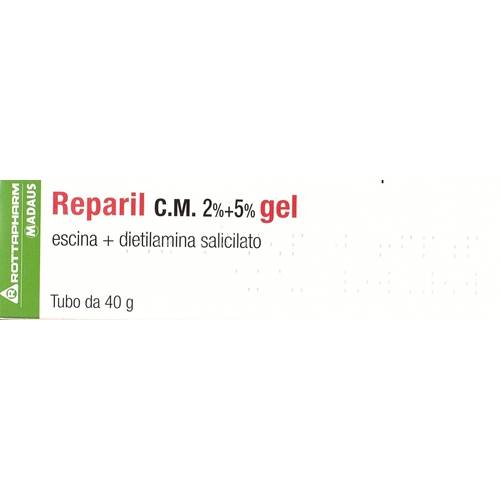 Meda pharma spa Reparil Gel C.m. 2%+5% 40 G