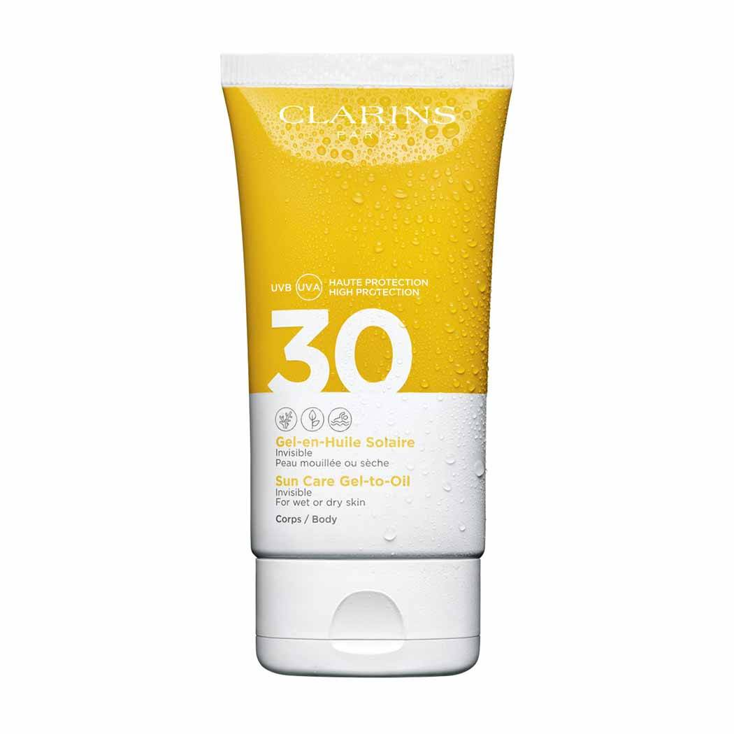 Clarins Sun Care Gel To Oil Body Spf 30 Spf 30