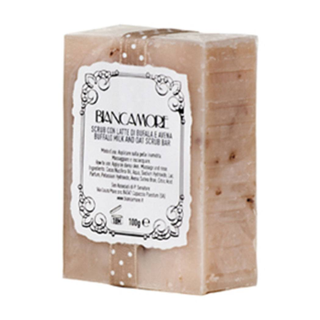 Biancamore Scrub Con Latte Di Bufala E Avena 100 gr